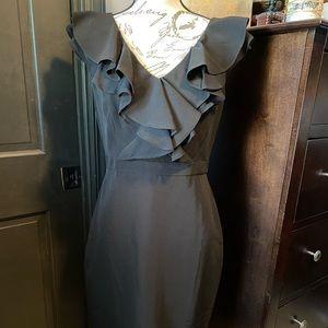 Black formal dress by Taylor
